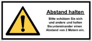 Beispiel-Schild