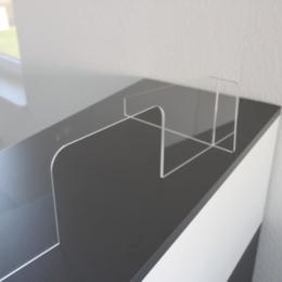 Corona-Schutz - Schilder, Aufkleber' Acrylglasscheiben
