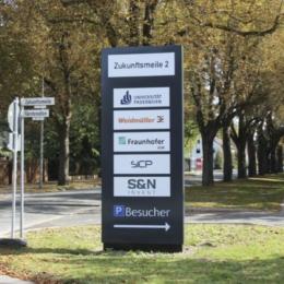 Paderborn, Zukunftsmeile 2 Neubau - Investor Goldbeck