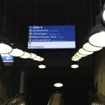 MoBiel - Hauptbahnhof - Hängeschild