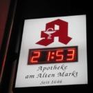 Apotheke Bielefeld - Uhrenanlage