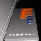 mobiel - Ausleger nachts