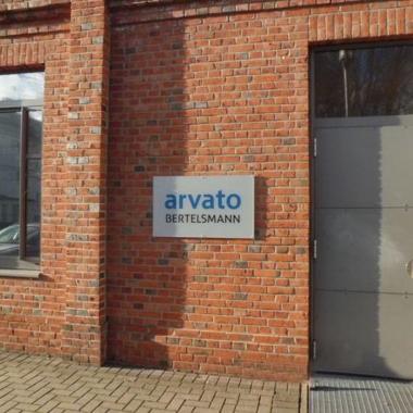 Arvato, Delmenhorst - Objektbeschilderung