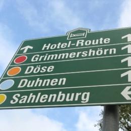 Cuxhaven - Hotelleitsystem