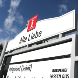 Cuxhaven Alte-Liebe - Leitsystem