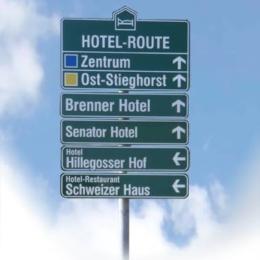 Bielefeld - Hotelleitsystem