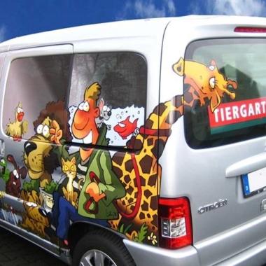 Tiergarten - Fahrzeugbeschriftung