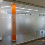 Volksbank - Glasdekor