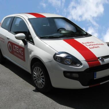 Vodafone - Fahrzeugbeschriftung