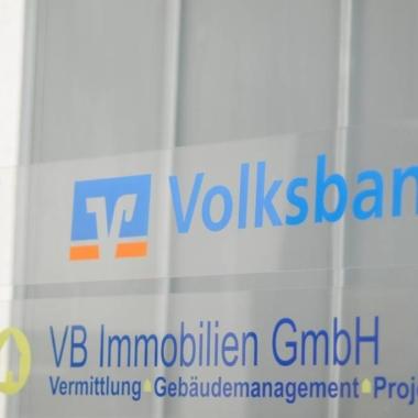 Volksbank - Objektbeschilderung