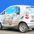 Volksbank - Fahrzeugbeschriftung