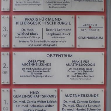Oldenburg - Objektbeschilderung