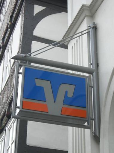 Volksbank Bielefeld-Gütersloh eG - Ausleger