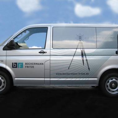 Bockermann-Fritze - Fahrzeugbeschriftung
