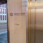 Werther+Ernst - Glasschild