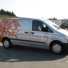 Fahrzeugbeschriftung: Sanitaetshaus Heigl