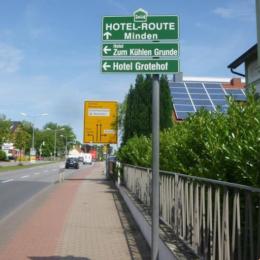Hotelroute Minden