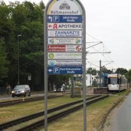 Innenstadtwegweiser Bielefeld - Bültmannshof