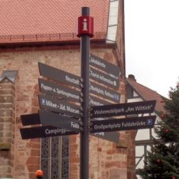 Rotenburg - Touristisches Leitsystem