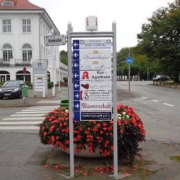 Travemünde - Innenstadtwegweiser