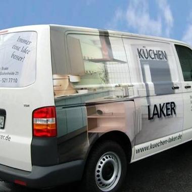 Fahrzeugbeschriftung - Küchen Laker