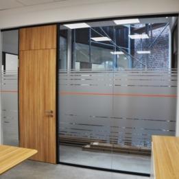 Volksbank in Isselhorst - Glasdekorverklebung